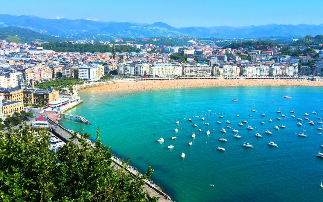 A Day Off with Jesus in San Sebastian- Notes from The Camino